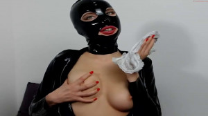 Super bondage, domination and torture for hot bitch in latex [2020][Eng]