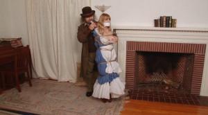 Blue Damsel in the Fireplace Lorelei and Jon Woods [Eng]