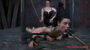 Hard bondage, spanking and torture for sexy young slut part1 [2019][Eng]
