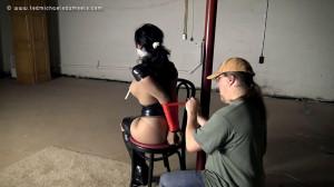 Bondage, mummification and torture for hot bitch part 1 [2021][Eng]