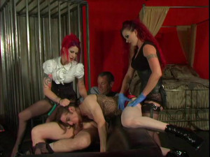 Academy For Sissies part 3 [2010,Bisexual,Strapon,Female Domination][Eng]