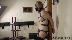 Super bondage, suspension and hogtie for young angel [2018][Eng]