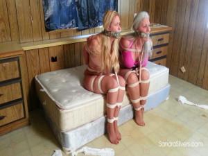Sandra and Caroline Pierce [2017,Bdsm,Humiliation,Bondage][Eng]