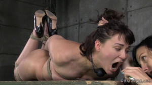 Colette Rouge Gets the Rough Rope Handling of a Lifetime [2014,Torture,Submission,Domination][Eng]