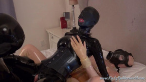 Super bondage, domination and torture for sexy girls in latex [2020][Eng]