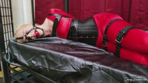 Spandex and Leather bound [2019,Bondage,Bdsm][Eng]