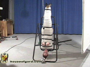 The Sports Gear Exposé [2009,inversion,catsuits,clips & clamps][Eng]