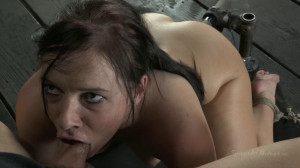 Stuck to the deep throat chair, Impaled, vibrated, and ass fucked [2018,SB,Cool Girl,BDSM][Eng]