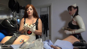 Lady Mia in Piercings Of The Clinic Pt4 [Foot Domination,Femdom ,Foot Fetish][Eng]