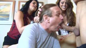 Cuckold Honeymoon [2012,Venus Girls Production,Kiki D'Aire,Fetish,Threeway,Cumshot][Eng]