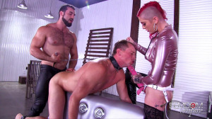 Sully Savage - Slave to a Couple [2018,Sully Savage,Anal,Bisexual,Strap-On][Eng]