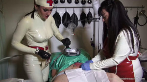 Ms Miranda and Lady Annisa - 130 Target part 5 [Foot Fetish,Femdom ,Foot Domination][Eng]