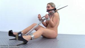 Metal Bondage Scene 620 [Eng]