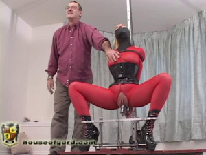 Darling Fucked Again [2010,fucking machines,catsuits,mesh][Eng]
