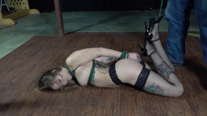 Rope and a Pole [2020,torture,BDSM,Bondage][Eng]