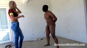 Punished For Masturbating [2018,Femdom,Blonde,Ballbusting][Eng]