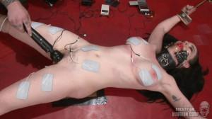 Hard bondage, spanking and torture for horny brunette part2 [2021][Eng]
