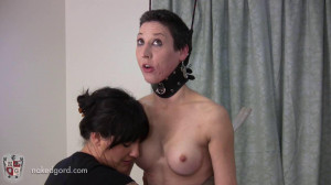 Trinity in Trouble Part 3 [2016,House of Gord,Lola Trinity,naked,barefoot,electrical][Eng]