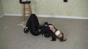 Elizabeth Andrews - Catsuited Domme Double Crossed [2021,Bondage,BDSM,Rope][Eng]