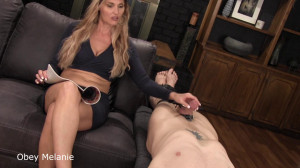 Obey Melanie How to please your man [2019,Melanie,Strap-on,Anal,Stockings][Eng]