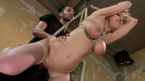Hard bondage, suspension and torture for sexy blonde part1 [2020][Eng]