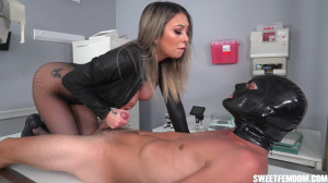 Edging Experiments with Kat Dior [2021,Kat Dior,Big Booty,Fishnets + Leotard,Fitness Chicks][Eng]