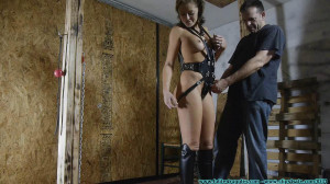 Outfit and Leather Gear Fitting 2 part - Extreme, Bondage, Caning [2019,Facial,Domination,BDSM][Eng]