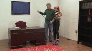 Holly Wood - High Heeled and Led Around [2021,Rope,BDSM,Bondage][Eng]