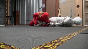 Zentai and GasMask Bondage Fun and Tickle [2019,BDSM,Bondage,torture][Eng]
