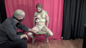 Vibrator in the Chair [2021,Rope,BDSM,Bondage][Eng]
