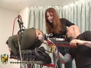 Kali gets a serious fucking [2009,armbinders,catsuits,penetration][Eng]