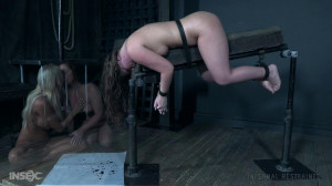 Maddy Joins The Ghost Realm With London And Stephie. [2018,BDSM,Bondage,String Bondage][Eng]