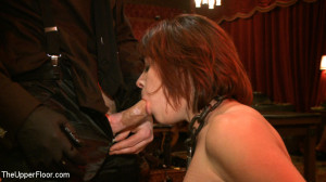 Submissive house slaves squirt on the bar and serve sadistic guests [2012,Kink: The Upper Floor,Iona Grace][Eng]