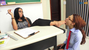 The Teacher's Feet - Alana and Miuk [Eng]