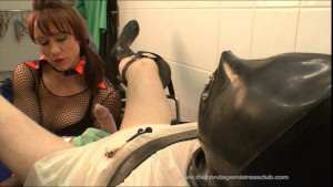 Medical Clinic:Cock Probes Finale [Femdom ,Foot Domination,Foot Fetish][Eng]