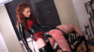 Mistress Lady Renee Bench Fucked Bitch [Eng]