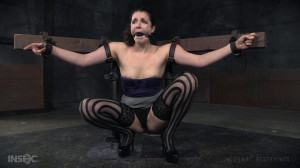 Spreading and Spanking Endza Adair [Torture,Bondage,Domination][Eng]