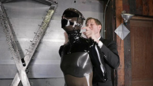Super bondage, suspension and torture for sexy girl in latex [2020][Eng]