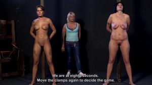 The Competition - Roxana vs. Fatima Part 3 [2018,Torture,Rope Bondage,Bondage][Eng]