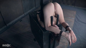 Stephie is stuffed with her own panties and metal dildo [2017,Stephie Staar,Bondage,Humiliation,Torture][Eng]