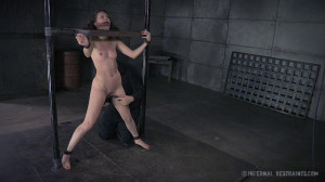 IR - Chatter Bitch, Part Two - Bonnie Day [2015,Bonnie Day,Toys,Ass Caning,Hogtie][Eng]