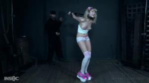 Slim babe Dolly suffers through one of OT's nightmarish fantasies [2018,Dolly Mattel,Torture,Metal Bondage,Humiliation][Eng]