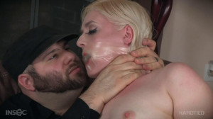 Bondage, spanking, hogtie and torture for sexy blonde part 1 [2020][Eng]