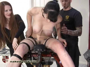 Natalie Minx Foldy Fucked [2016,House of Gord,Natalie Minx,cinch straps,inversion,naked][Eng]