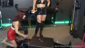 Mistress Miranda in Electric Paddle Finale [2019][Eng]