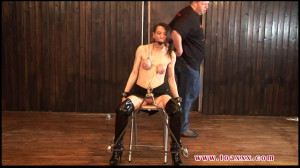 Bondage, spanking, torture and strappado for hot bitch part 2 [2019][Eng]