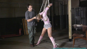 Making Sure She Doesn't Steal My Booze Again - Part 2 [2020, panty gags,crotchrope, strappado][Eng]