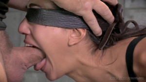 RTB - Pretty Girl bound, vibrated to orgasm and deepthroated by BBC! [2014,Lyla Storm,Hardcore,Domination,BDSM][Eng]