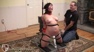 Lucia Ommph! Ommph! Fucked [2016,House of Gord,Lucia,naked,gags,metal bondage][Eng]