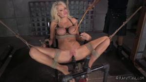 HT - A Bondage Barbie - Courtney Taylor and Jack Hammer [2015,Courtney Taylor,Fetish,BDSM,Domination][Eng]